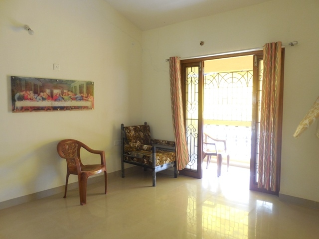 1 Bhk 70sqmt flat for Sale in Siolim, North-Goa.(42L)