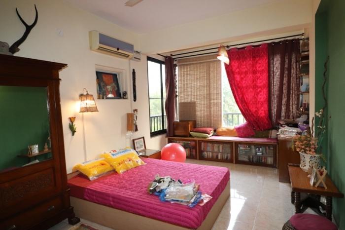 3 Bhk 123sqmt flat Semi-furnished for Sale in Donapaula, North-Goa.(1.10Cr)