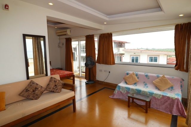 2 Bhk Row Villa Sea facing for Rent in Reis-Magos, North-Goa.(30k)