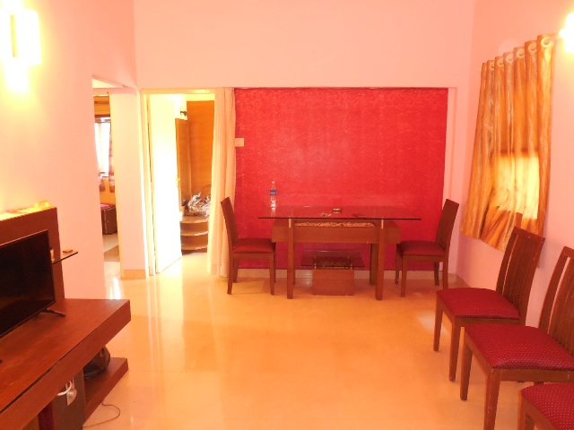 2 Bhk 72sqmt flat furnished for Sale in Calangute, North-Goa.(55L)