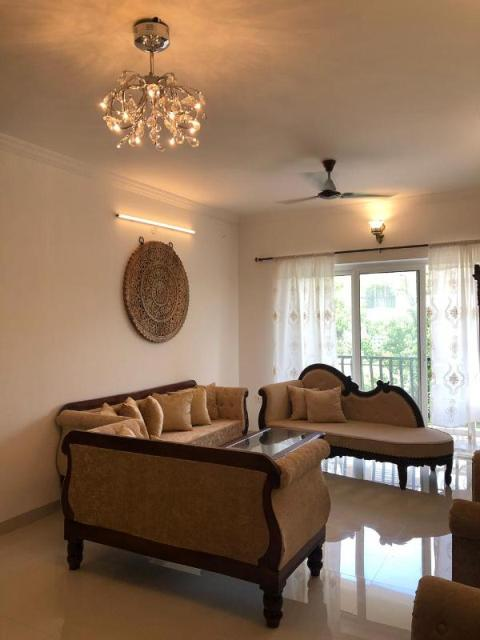 2 Bhk 140sqmt flat furnished flat with open terrace for Rent in Duler-Mapusa, North-Goa.(35k)