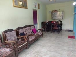 1 Bhk 65sqmt flat for Sale in Chimbel-Merces, North-Goa. (30L)