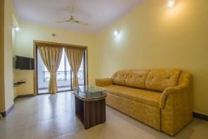 2Bhk 100sqmt flat furnished for Rent in Ribandar, North-Goa.(25k)
