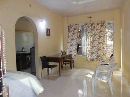 1 Bhk 60sqmt flat furnished for Rent in Calangute, North-Goa.(16k)