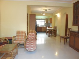 2 Bhk 192sqmt flat with terrace for Rent in Porvorim, North-Goa.(25k)