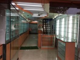 Shop 40sqmt Double Height for Rent in Porvorim, North-Goa. (60K)