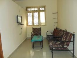 1 Bhk 56sqmt flat furnished for Rent in Porvorim, North-Goa.(13k)