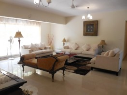 3 Bhk 160sqmt flat furnished with terrace for Rent in Porvorim, North-Goa. (50k)