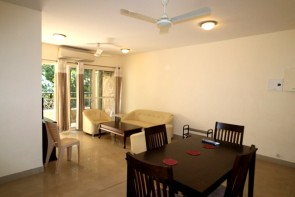 2 Bhk 115sqmt. flat fully furnished for Rent in Porvorim, North-Goa.(30K)